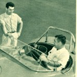 In This Photo, the Caption Says Bud Kennedy is In The Car and Don Collins (Who Built the Chassis) Stands Outside. I believe The Article Has the Names Reversed - Based on the Color Picture in Hot Rod Magazine.
