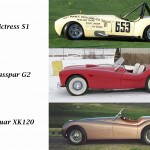 Here's A Side by Side Comparison Of The Jaguar XK120 With The Glasspar G2 and Victress S1A. You Can See The Similarities In Style, Size, and Wheelbase.