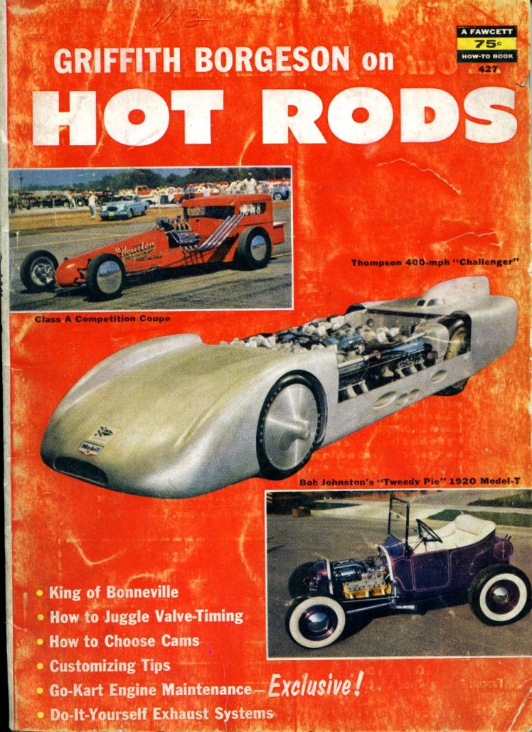 Jerry Sutton\'s Victress C3 Coupe: Griffith Borgeson on Hot Rods ...