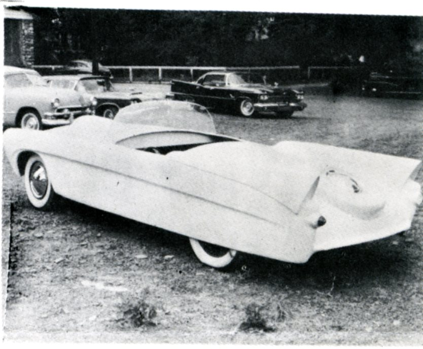 This Is A Picture Of The US Mark II Made By Fiberglass Norwood New Jersey Appears In February 1956 Issue Ford Times