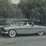This is a Picture of the U.S. Mark II Made by U.S. Fiberglass of Norwood, New Jersey.  This Picture Appears in the February 1956 Issue of Ford Times.