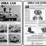 Here's a Scan of the Large Fold-Out Poster Showing The Fiberglass Kit Car Version Of The Urba Car - That You Could Purchase And Assemble Yourself.