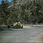 "Chuck Tatum Shown Driving His ""Tatum Special"" in the ""Johnny Dark"" Movie."