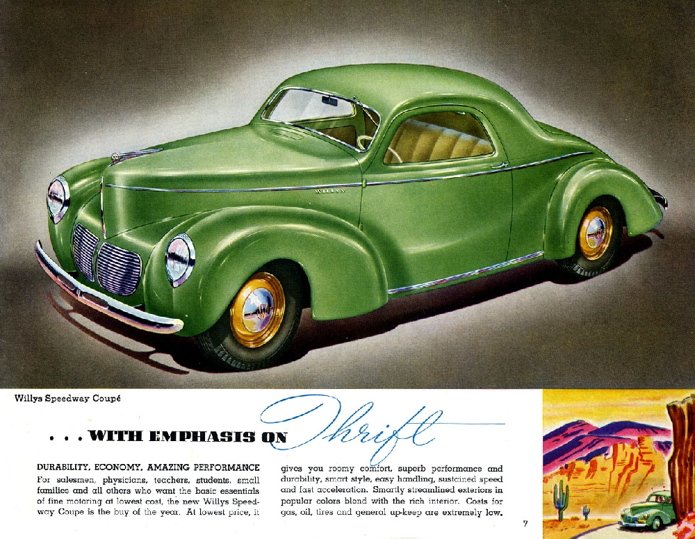 The Prewar Willys – The Basis For America's First Postwar