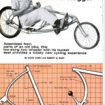 "Here Was The First Design Created By Robert Riley and David Carey - The ""Ground Hugger"" Recumbant Bicycle, Shown Here In The April 1969 Issue Of Popular Mechanics."