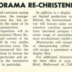 1954: Petersen Changes Motorama Show Name