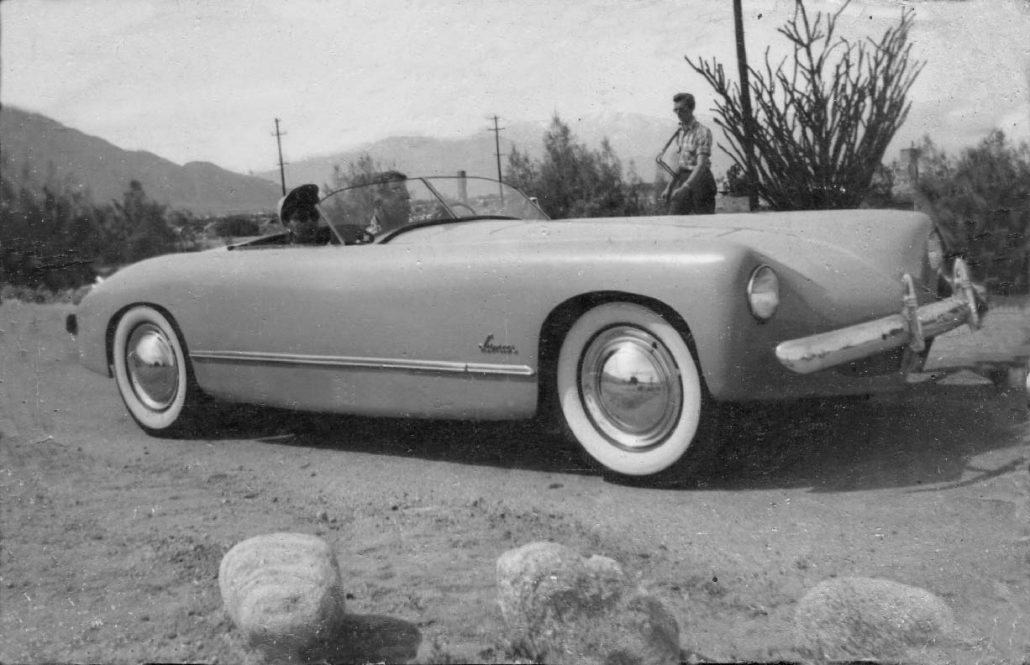 The First Postwar American Hood Scoop - forgottenfiberglass.com