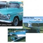 1959 Car Aqua