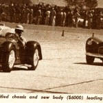 Bill Pollack Driving the Mameco Ardun Special (Glasspar G2) at the Labor Day Race at Goleta Airport in 1953