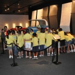 Kids Were a Big Part of That Day and Are Enthusiastically Welcomed at The Petersen Automotive Museum.  Can You Guess Which Car This Was???
