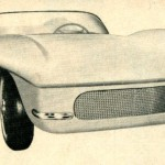 Nice 3/4 Front Shot of Almquist Thunderbolt Sports Car.  I Wonder Where This Car Is Today?