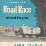 Here's The Pebble Beach Road Race Program From 1953.  Several ictures of The Glasspar Mameco Ardun Racecar Would Appear, Later, In The 1954 PB Program.