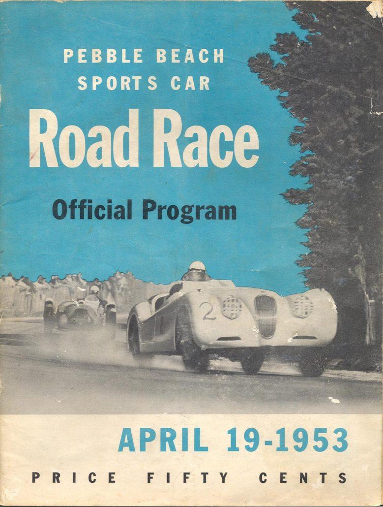 1952 pebble beach races