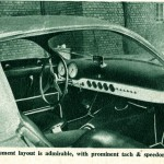 Caption: Instrument layout is admirable, with prominent tach & speedometer.