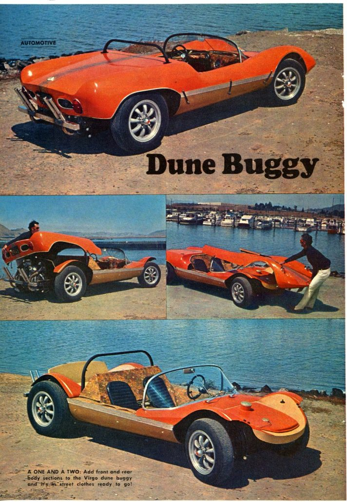Beau Hickory Does It Again! Is It A Dune Buggy or Sports Car