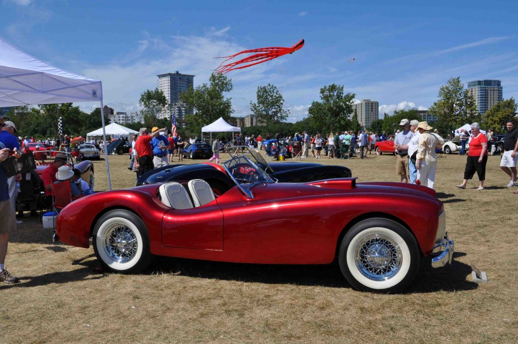 The Cars of the Milwaukee Masterpiece: DeWayne Ashmead\'s Glasspar ...
