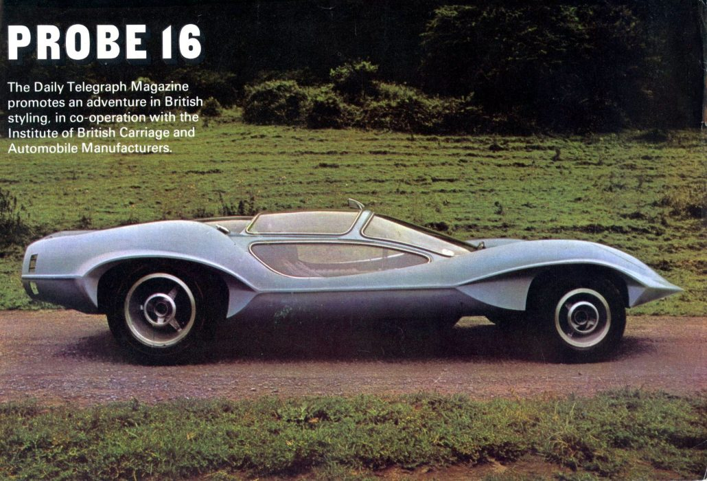 The Probe 16 – The Adams Brother\'s Futuristic Concept Car From ...