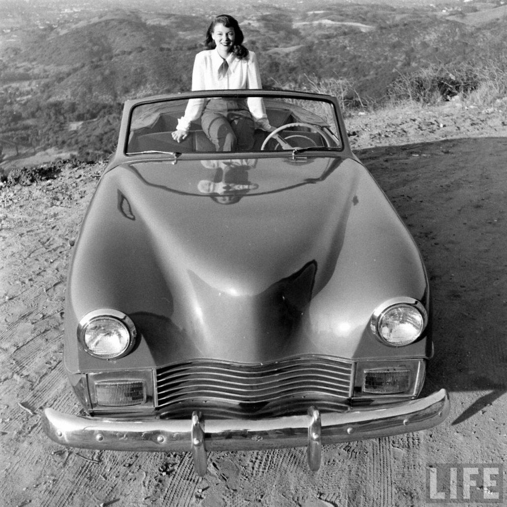 """Treasure Trove of 1946 Fiberglass Darrin """"Life Magazine"""" Pictures ..."""