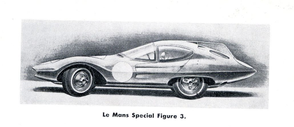 Strother MacMinn\'s LeMans Coupe: Sports Cars of the Future: 1959 ...