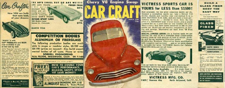 Come One, Come All….The Fiberglass Ads of Car Craf…