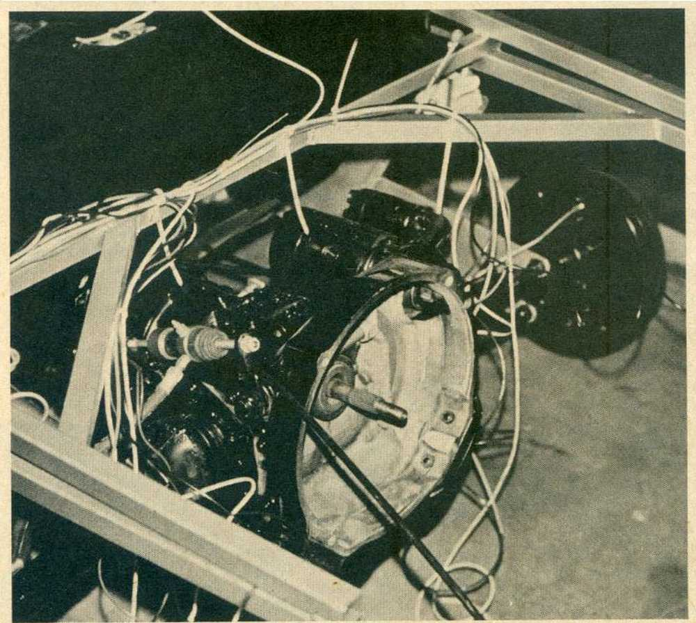 Porsche 911 Engine Stand Yoke: A Triple Threat Fun Car: Dune Buggies & Hot VW