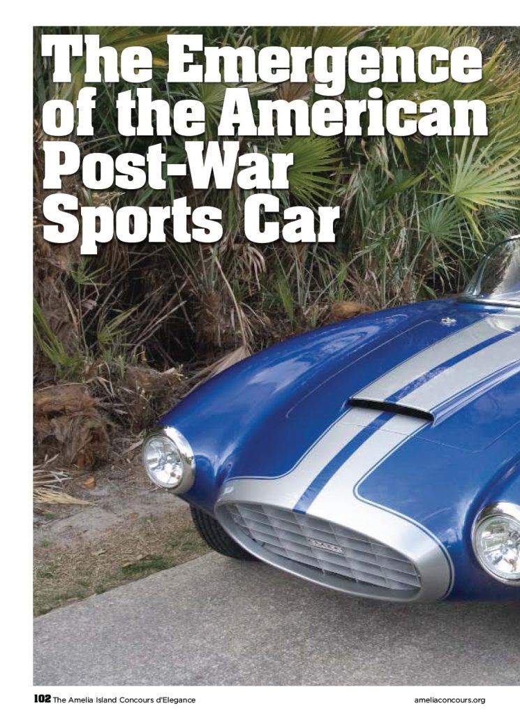 Concours D Elegance >> The Emergence of the American Postwar Sports Car