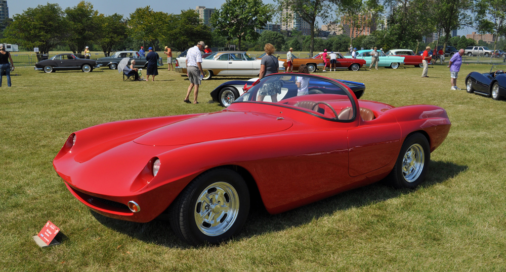 1960 LaDawri Daytona at 2013 Milwaukee Masterpiece Concours d'Elegance