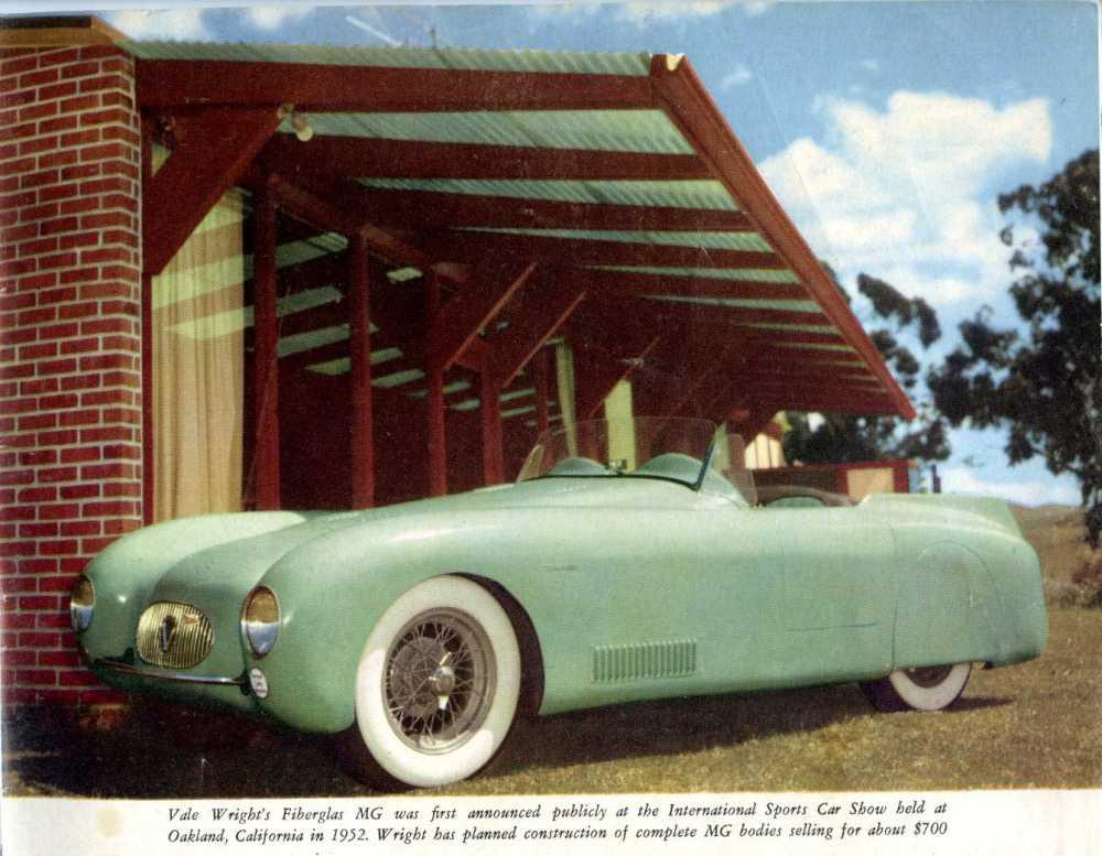 1952 Vale Speedster