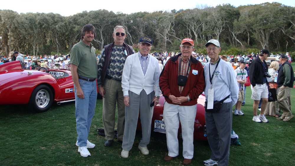 Steve Cowdin, Roger Adams, Ed Almquist Clark Mitchell