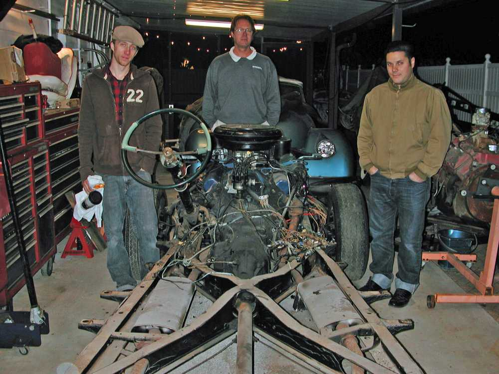From Left To Right, Scott Miller, Terry Miller, and Tim Masters. Thanks For All The Help Guys!!!