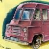 Walter Dorwin Teague Designs First All Plastic Truck: Clues July-August, 1955