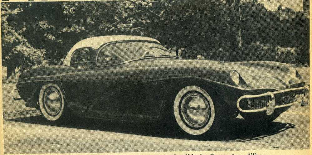 September 1961 Custom Rodder Hot Rod Magazine w/ 50s and 60s Cars !