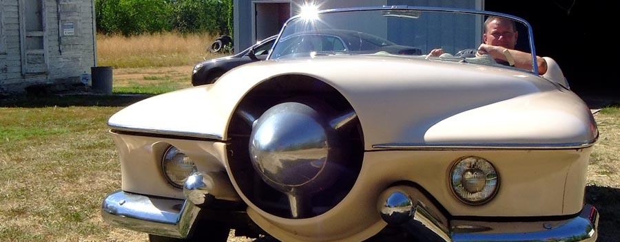 the 1953 manta ray appears on wayne carini s chasing classic cars. Black Bedroom Furniture Sets. Home Design Ideas