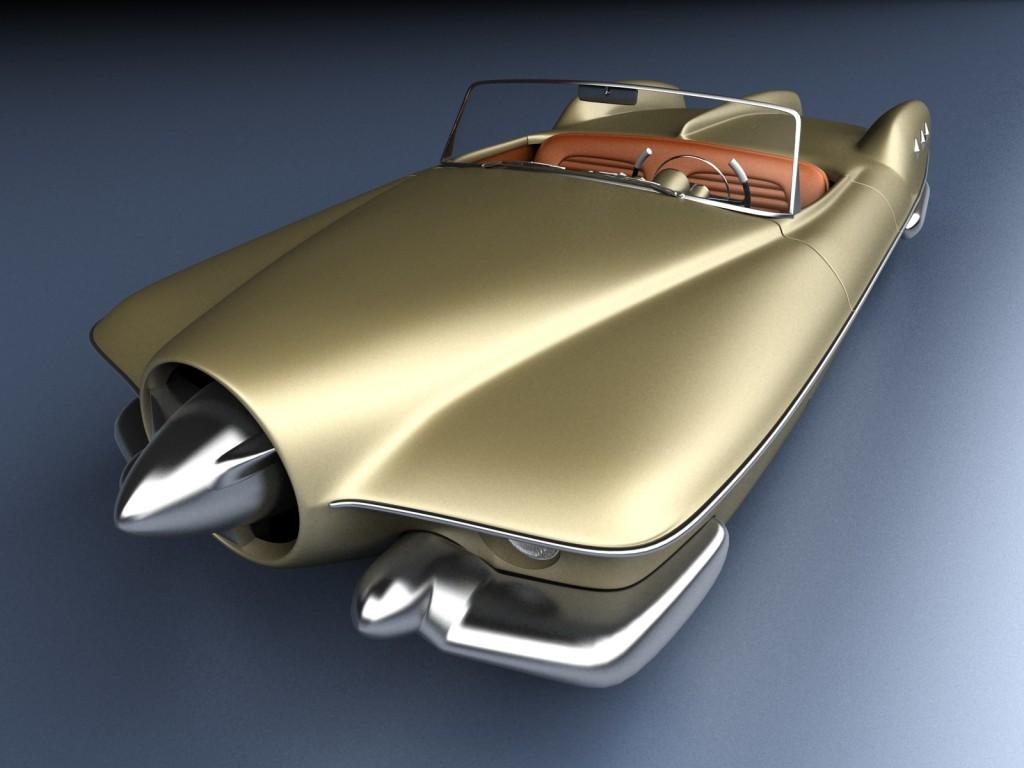 Manta Rey Sports Car
