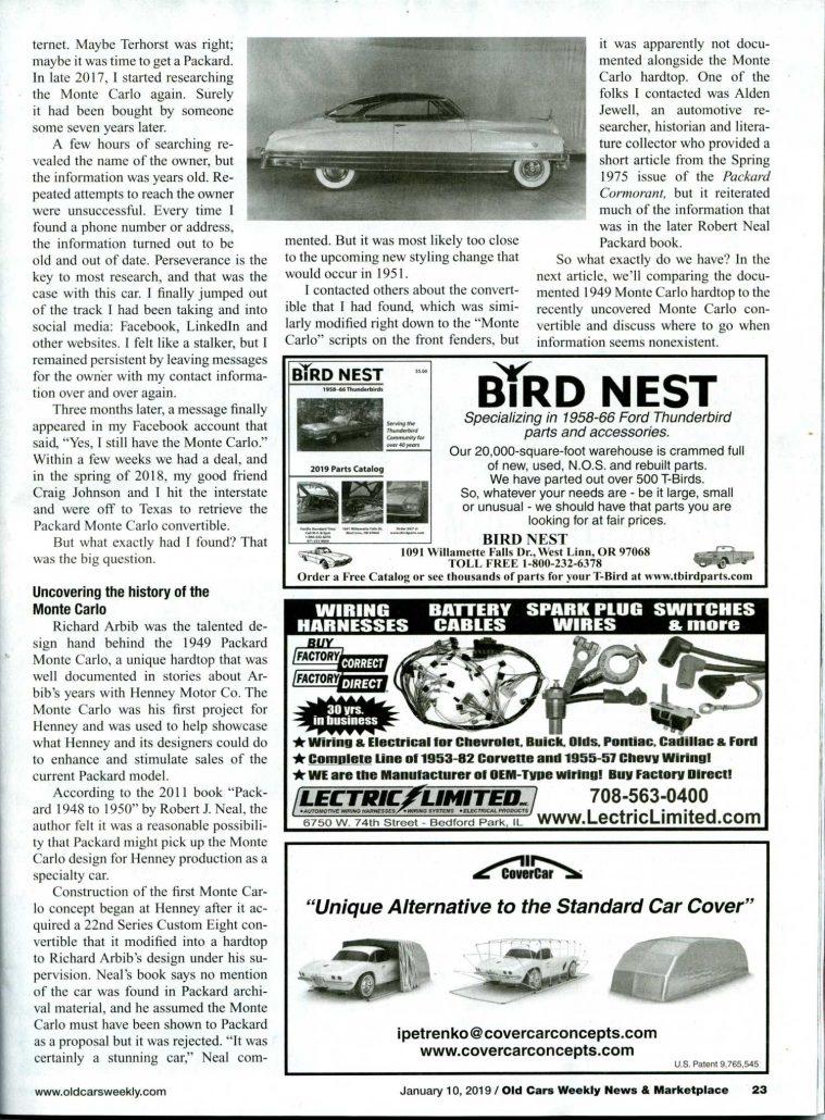 1958 Cadillac Wiring Harness