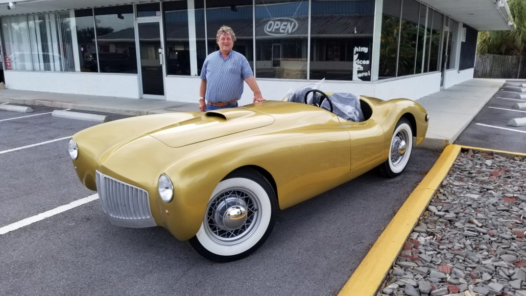 BREAKING NEWS… 1952 Glasspar G2 to Appear at the Cigar City