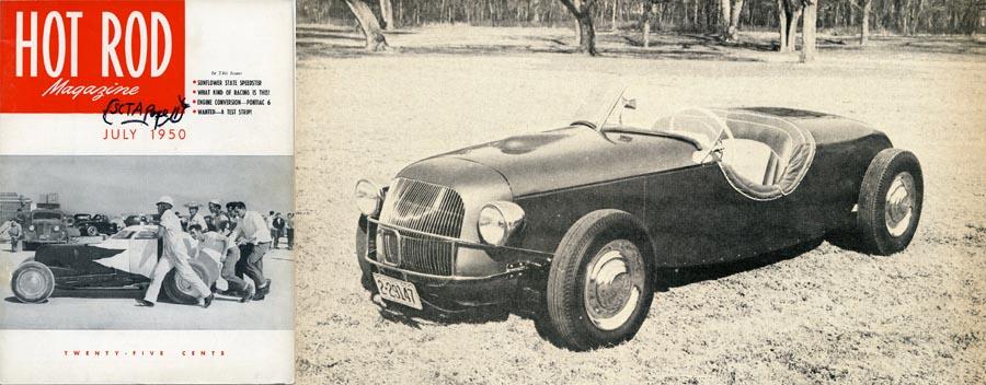 The 1949 Daniels Speedster – Midwestern Ingenuity…