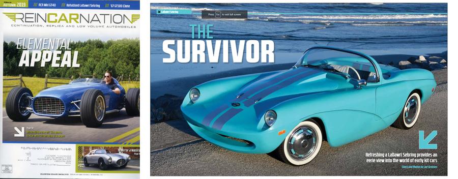 Steve Miller's 1960 LaDawri Sebring Featured in Reincarnatio…