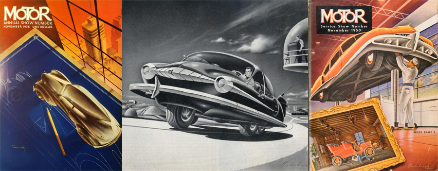 Arthur C. Radebaugh: Detroit's Most Prolific Futurist Illust…