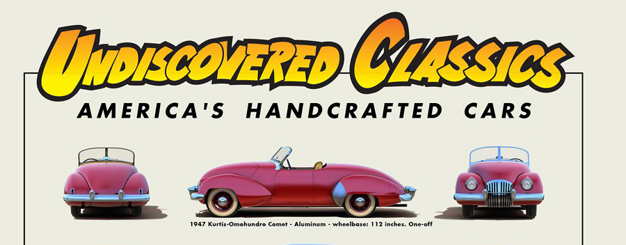 New Release:  Poster #1 – America's Handcrafted Cars