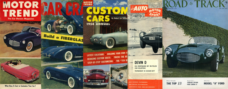 Vintage Magazine and Book Covers and Forgotten Fiberglass