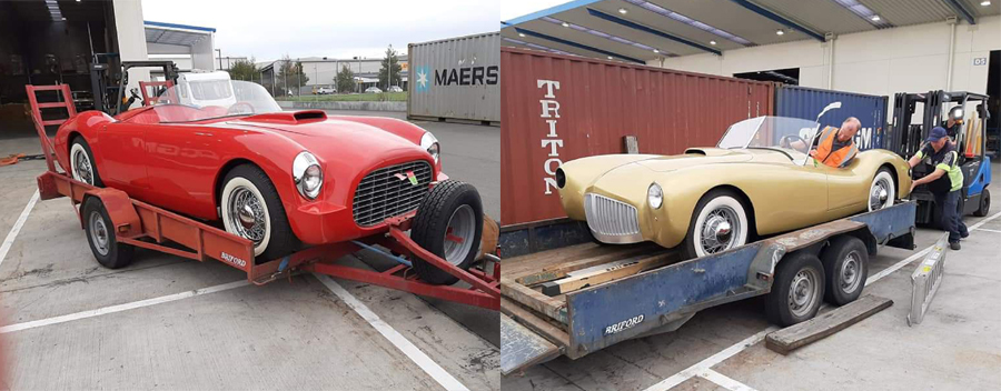 Undiscovered Classics Ships Brian Ford's Cars to New Zealand