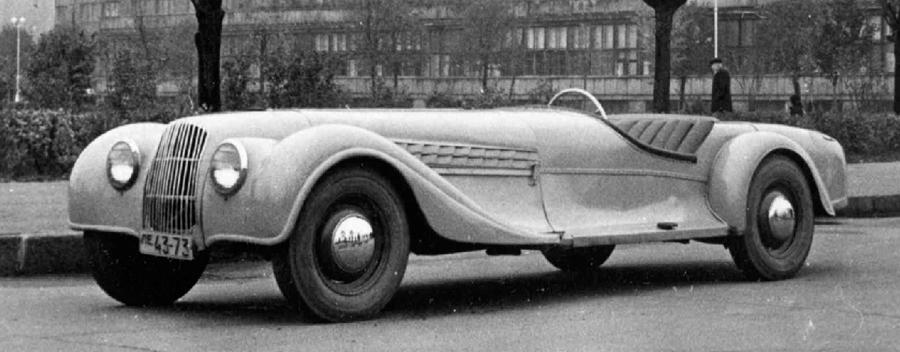 The 1952 Leningrad Sport Custom – Babich's 1st Custom Sports…
