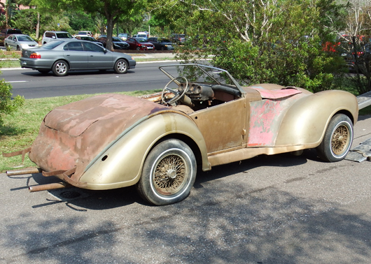 "FOR SALE:  1953 ""Allard K2 Style"" Sport Custom – Click Here To Learn More"