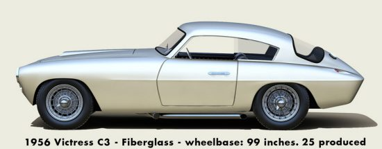 1956 Victress C3 Coupe Poster Now Available