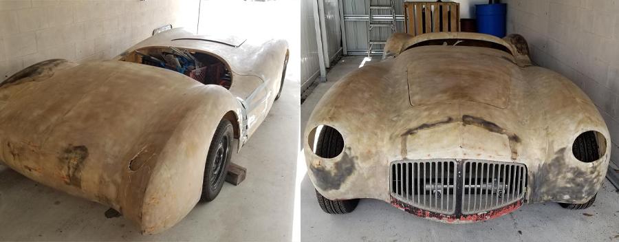 1952 Glasspar G2 Restoration Begins