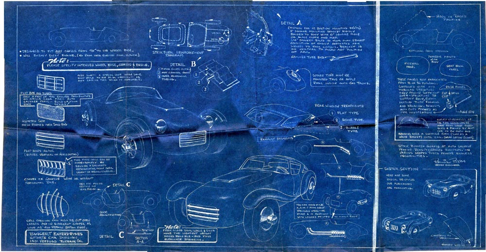 Noel bangerts first car the stag hop up motor life march 1954 here is noels poster blueprint malvernweather Gallery