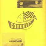 Although the Bulk of the Catalog was Text, the Inside Covers (Front and Rear) Showed Additional Pictures of the Conquest to Interested Buyers