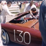 Great Color Shot of Mameco Ardun Racecar at Pebble Beach in April 1953 - The Only Known Color Photograph Uncovered So Far.