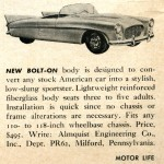 This Announcement Appears in the August 1960 Issue of Motor Life.  You can see the Victress S4 Heritage in the Side Lines of the Car.